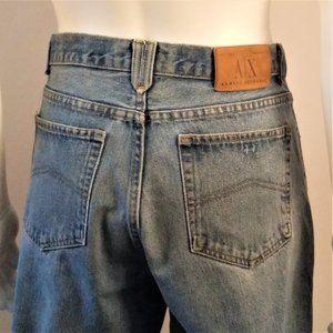 Armani Exchange A/X Button Fly Jeans Vintage